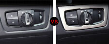 For BMW 3 Series F30 2012-2016 ABS Interior Headlight Switch Button Cover Trim