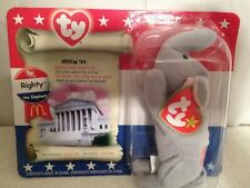 McDonald's Ty Collection American Trio Righty The Elephant In Org Box