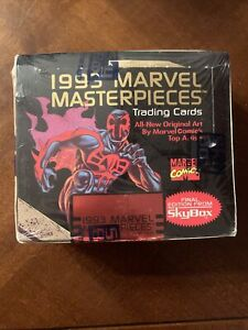 1993 MARVEL MASTERPIECES Trading Cards 36 PACKS FACTORY SEALED BOX Final Edition