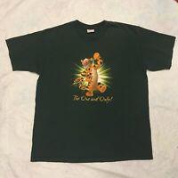 VTG 90s Disney T-Shirt Mens XL Tigger TV Show Promo Cartoon Streetwear Official