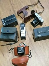 Job Lot of 5 Vintage Cameras - Still and Cine inc Soligor, Dacora, Brownie, Rex