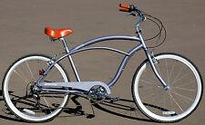 Fito Marina Aluminum 7-speed - Matte gray, Light Weight Mans Beach Cruiser Bike