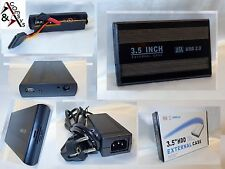 "3.5"" USB 2.0 3.0 Extern Festplattengehäuse SATA Case Max. 2TB Festplatte Gehäuse"