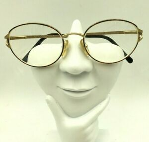 Vintage Vienna Line Carrera 1804 Tortoise Gold Metal Oval Sunglasses FRAMES ONLY