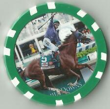 CALIF. CHROME DERBY & PREAKNESS 2014  WINNER  HORSE RACING COLLECTOR   CHIP
