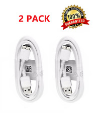 2x USB 3.0 3ft Charger Charging Sync Data Cable Cord For Samsung Galaxy S5 Note3