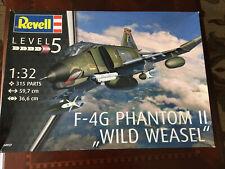 Phantom Ii Wild Weasel. Model airplane Kit. F-4G