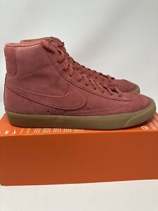 Nike Blazer Mid 77 Suede Light Redwood Pink Men Size 11 Brand New