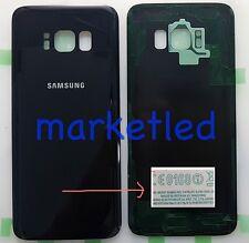 COPRIBATTERIA SCOCCA POSTERRIORE NERA per SAMSUNG G950 Galaxy S8 BLACK