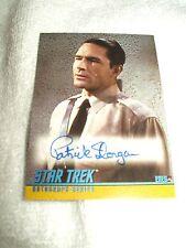 Star Trek Autograph Card Patrick Horgan as Eneg A88