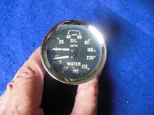 Original Smiths Dual Oil/Water Gauge Austin Healey Bugeye Sprite GD1502/01 CORE