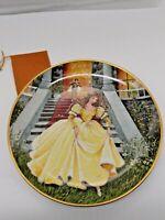 "Kaiser Porcelain W. Germany Neubacher Cinderella collector plate ""Aschenputtel"""