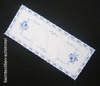 PLAUENER SPITZE ® Tischdeckchen TISCHDEKO Deckchen Tischdecke Tischläufer 40x93