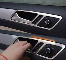 VW Jetta MK6 Edelstahl GTI R GTD GT Handgriffen   Abdeckung Blenden Chrom