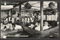 Postcard Mudeford nr Christchurch Dorset the Lobster Pot Cafe interior RP