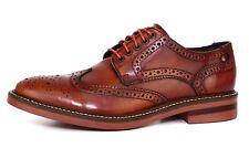 Base London Woburn Wingtip Leather Oxford Brown Men Sz 43 EUR 4161