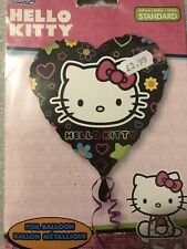 Hello Kitty Heart Shape Foil Balloon