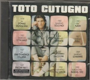 TOTO CUTUGNO - omonimo CD