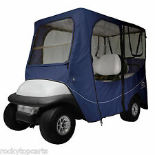 Classic Accessories 4 Passenger Navy Golf Cart Enclosure Cover For Long Tops