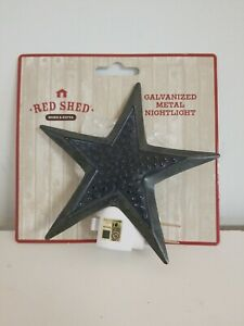Red Shed Home & Gifts Galvanized Metal Nightlight. Free Shipping