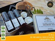 SALE!!! Exclusive Extra Large Beard & Moustache Care & Grooming Kit 10PCS SET