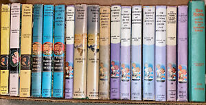 Vintage Nancy Drew 3, Bobbsey Twins 12, & Hardy Boys 3 Hardcover Books Lot Of 19