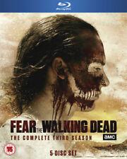 Fear The Walking Dead Series 3 Blu Ray Complete Season 5 Disc Set