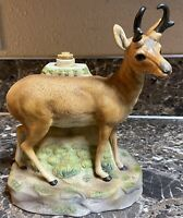 Ski Country Big Wyoming Antelope Decanter Empty 1979 Vintage 80401 Used