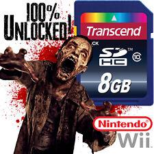 RESIDENT EVIL Nintendo Wii SD CARD SAVES RE 4 Archives Zero Darkside Umbrella