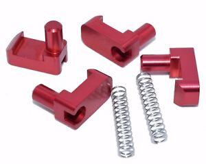 Billet Aluminum Geo Tracker/Suzuki Sidekick soft top roof latch clips w/ springs
