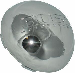 1 - BOSS MOTORSPORTS AEWC 3148 CHROME WHEEL RIM CENTER CAP WITH WIRE RETAINER