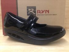 Ryn Rose Woman Black Patent Leather Mary Jane Style Shoes US Size 6
