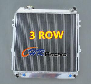 3 Row Aluminum Radiator for TOYOTA PICKUP 4RUNNER 3.0 V6 3VZ-FE 1988-1995