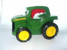 "JOHN DEERE GREEN TRACTOR FLASHLIGHT W/ SOUNDS by Learning Curve 8""L"