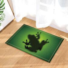 Door Mat Bathroom Rug Bedtoom Carpet Bath Mats Rug Tree frog and banana leaves