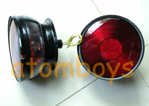 JEEP CJ2A CJ3A CJ3B CJ5 CJ5A CJ6 RED SIGNAL REAR TAIL LIGHTS NEW