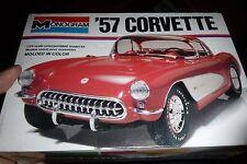 MONOGRAM 1957 CHEVY CORVETTE 2n1 1/24 1977 issue FS Model Car Mountain KIT