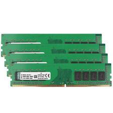 4pcs For Kingston 4GB DDR4 2400T PC4-19200 2400Mhz RAM Desktop Memory 288pin @MY
