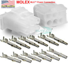 Molex -1 Complete Set - (6 Circuit) w/14-20 AWG, Wire Connector - 2.13mm D, MLX™