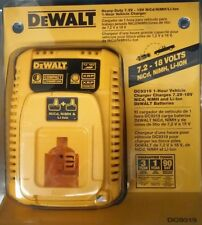 Dewalt Heavy Duty 7,2V-18V NiCd/NiMh/li-Ion 1-Hour Vehicle Charger DC9319