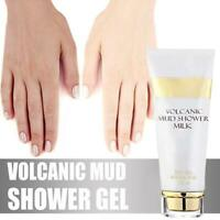 Whitening Volcanic Mud Bath Milk Cream Body Wash Exfoliating Body Lotion Sswell