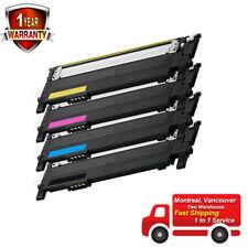 4X Toner Set for Samsung Xpress C410W C460W C410 C460 CLP-360 365W 365 CLT-K406S