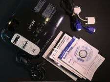 Epson Ex51 Lcd Projector Model 311A. Cables. Mac adapter. Case. 12hrs.