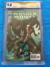 Wonder Woman #161 - DC - CGC SS 9.8 - Signed by Adam Hughes