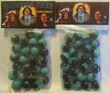 2 Bags Of Burning Tree Indian Jewelry Promo Marbles
