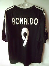 VERY RARE!!!! RONALDO !!! 2004-05 Real Madrid Away Shirt Jersey Trikot M