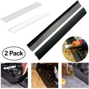 Silicone Gas Stove Counter Gap Cover For Cooker Worktop Spill Guard Seal Filler