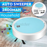 US Electric Smart Vacuum Cleaner Robot Floor Auto Strong Suction Sweeper Mop