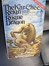 1979 Ace Double SF PB Avram Davidson The Kar-Chee Reign Rogue Dragon CVR Olivia