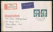 Mayfairstamps Germany 1973 Reg Kempten Heinemann Block Cover wwm_23409